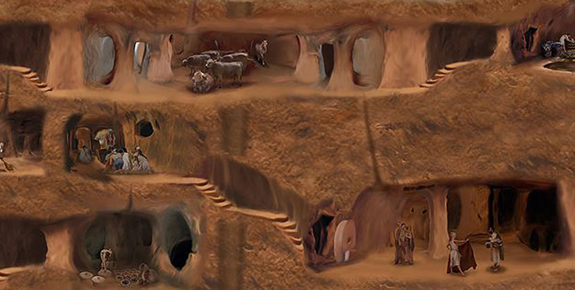 Cappadocia-Underground